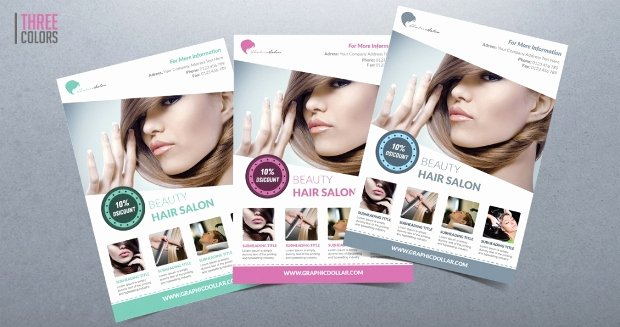 Hair Flyers Free Template Unique 20 Beauty Salon Flyer Templates Printable Psd Ai