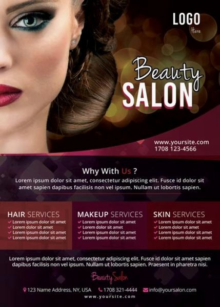 Hair Flyers Free Template Unique Download the Free Beauty Salon Flyer Template for Shop