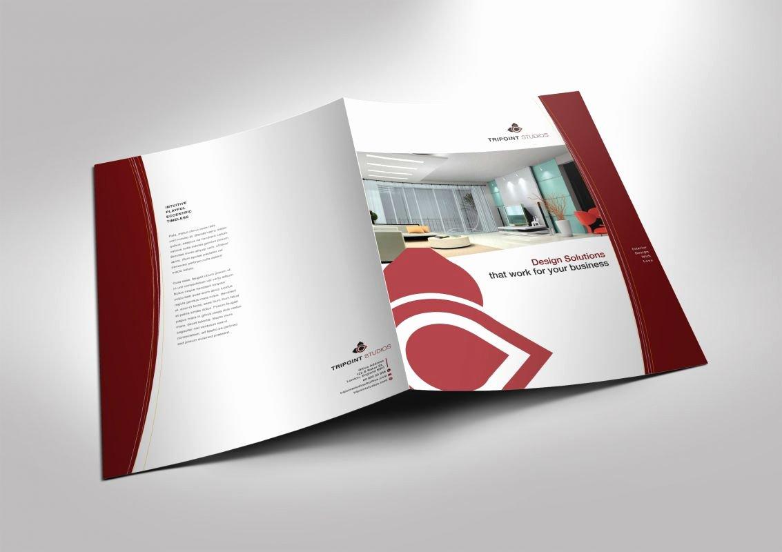 Half Fold Brochure Template Beautiful Half Fold Brochure Template for Design Pany Marketing