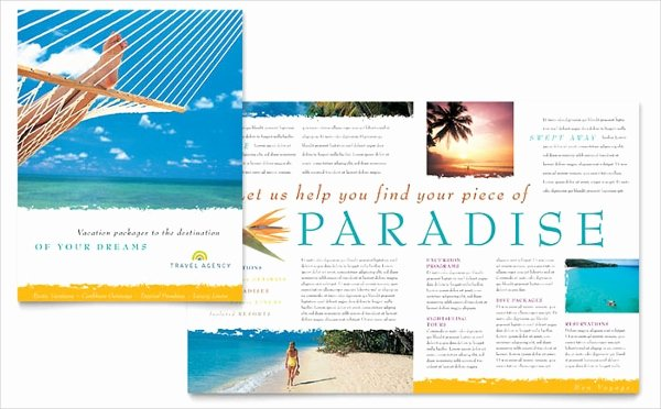 Half Fold Brochure Template Elegant Travel Brochures – 18 Psd Ai Vector Eps format Download