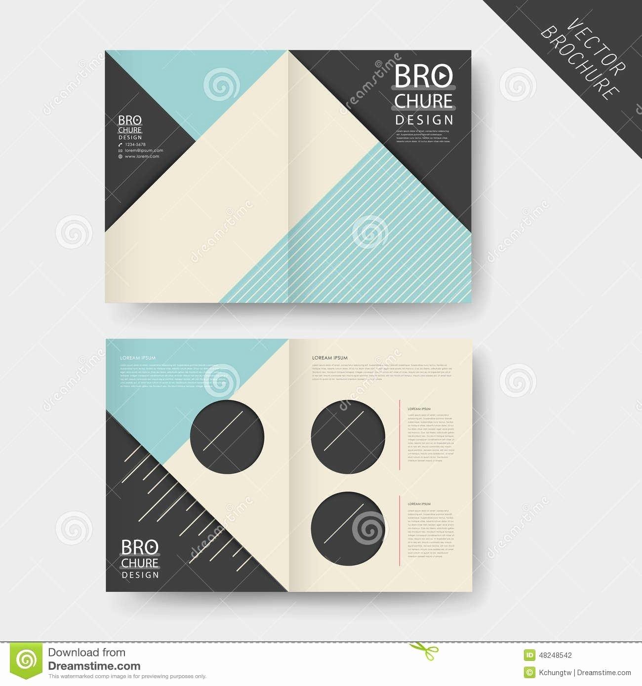 Half Fold Brochure Template Free Best Of Half Page Brochure Template Reeviewer