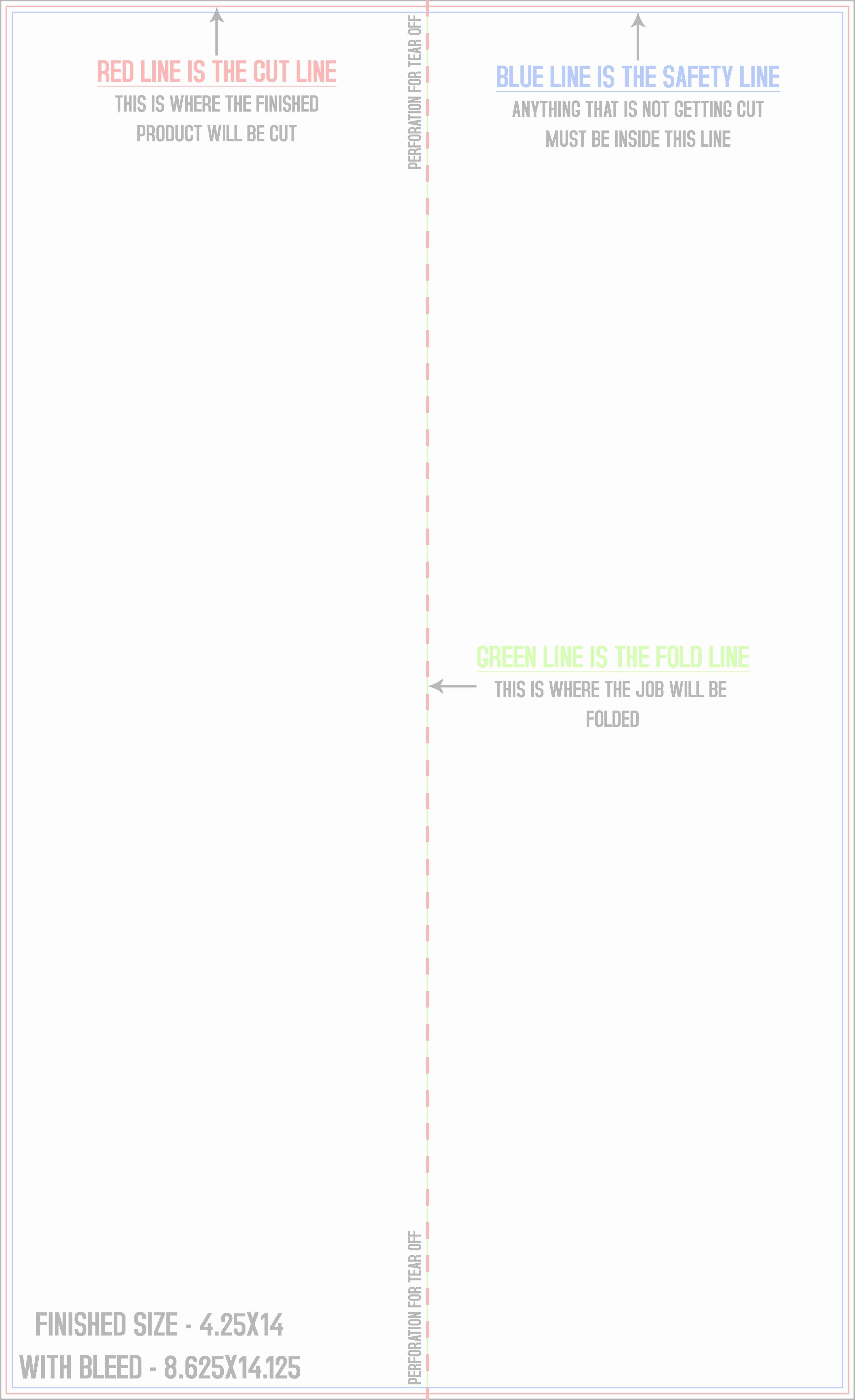 Half Fold Brochure Template Free Elegant Brochure Half Fold & Perf On Fold Templates