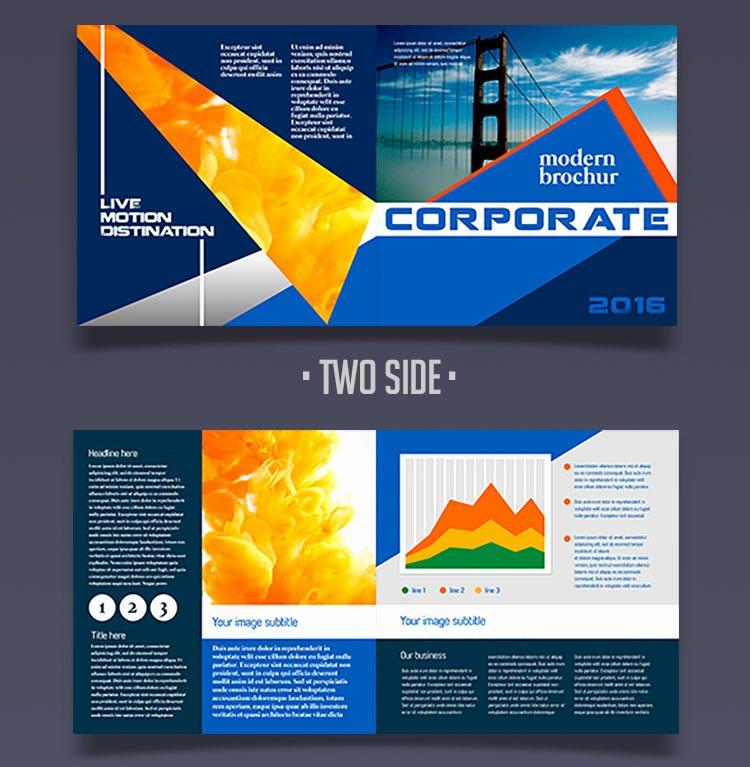 Half Fold Brochure Template Free Fresh 12 attention Grabbing Bi Fold Brochure Free Psd Templates