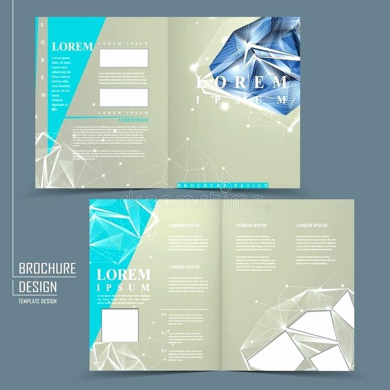 Half Fold Brochure Template Free Fresh Half Fold Brochure Template Word Free then Outside Single