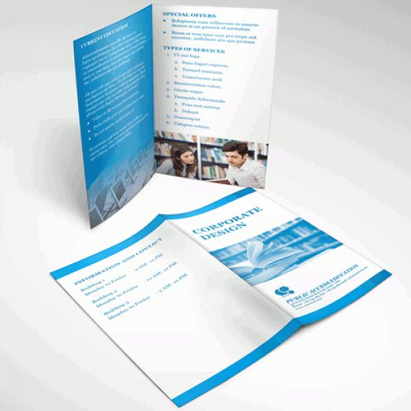 Half Fold Brochure Template Free Fresh Half Fold Brochures & Menu Printing