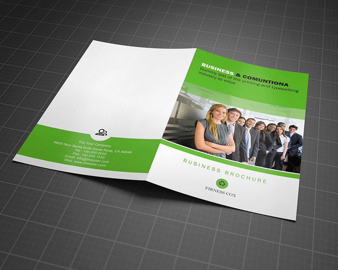 Half Fold Brochure Template Free Lovely 50 Best Free Half Fold Brochure Template Microsoft Word