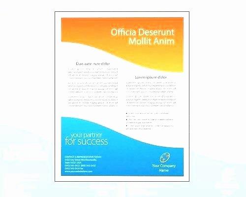 Half Fold Brochure Template Free New 50 Best Free Half Fold Brochure Template Microsoft Word