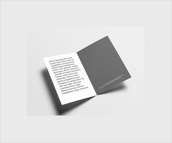 Half Fold Brochure Template Fresh 26 Half Fold Brochures