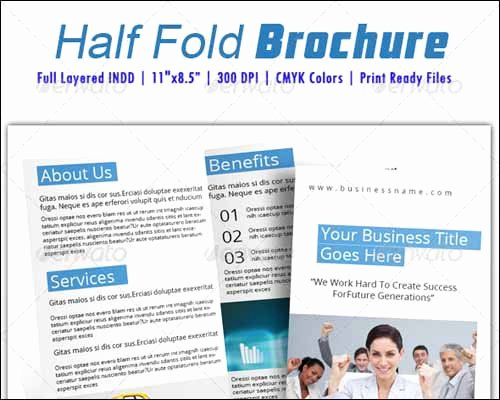 Half Fold Brochure Template Lovely 25 Best Brochure Design Templates