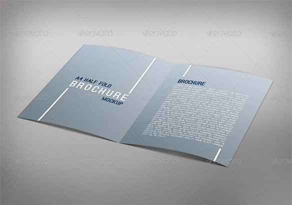 Half Fold Brochure Template Luxury 36 Half Fold Brochure Templates