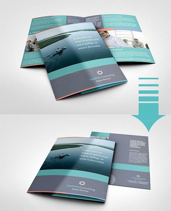 Half Fold Brochure Template New 36 Half Fold Brochure Templates