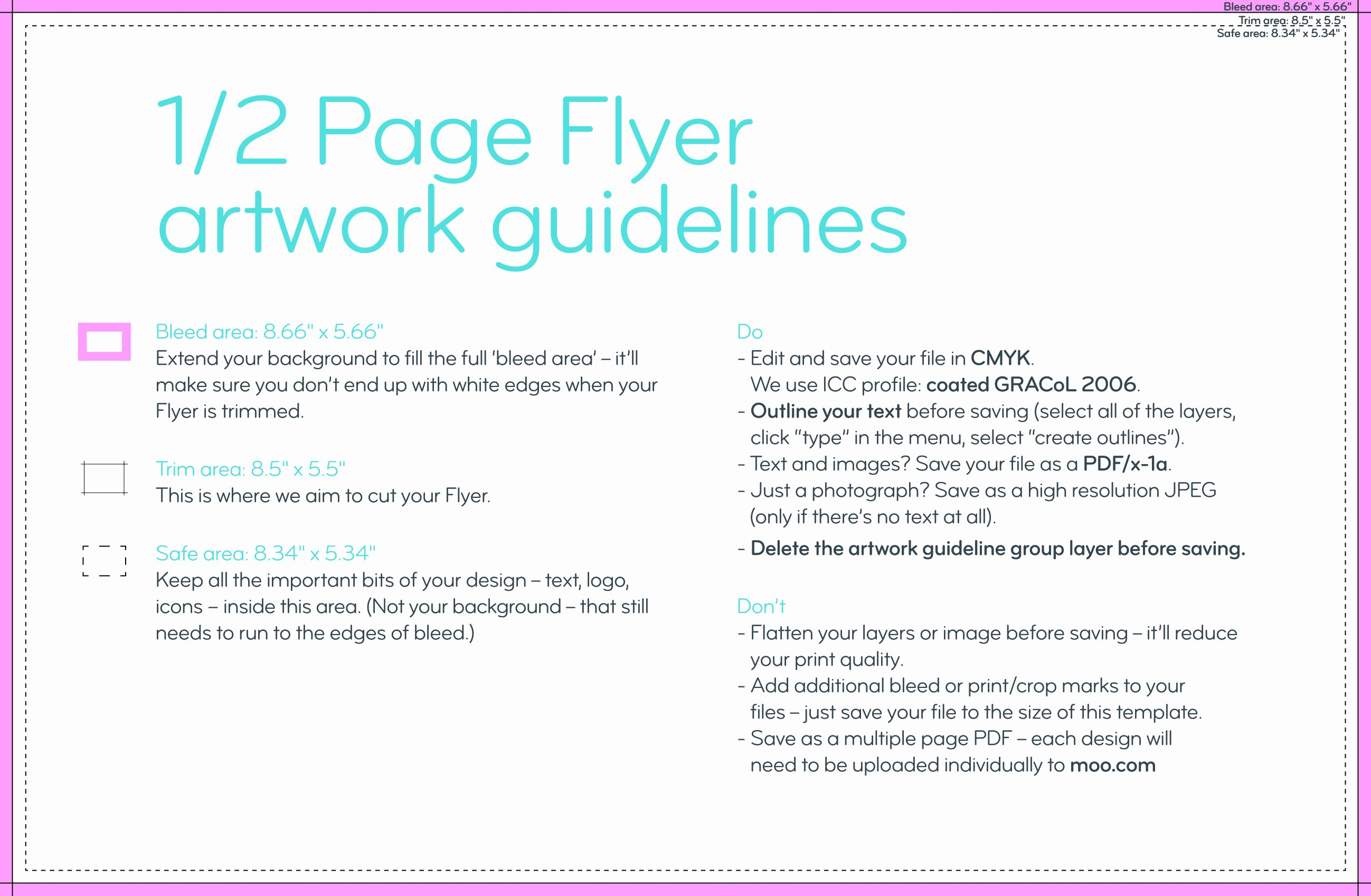 Half Page Ad Template Beautiful Flyers Templates – Moo