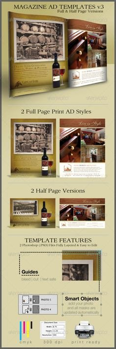 Half Page Ad Template Best Of 1000 Images About Print Ad Templates On Pinterest
