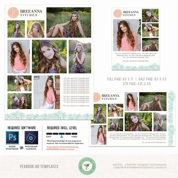 Half Page Ad Template Unique 17 Best Ideas About Middle School Yearbook On Pinterest