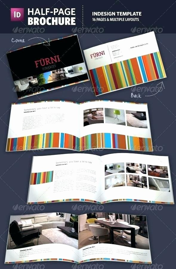 Half Page Brochure Template Best Of Half Page Brochure Template Half Page Brochure Template