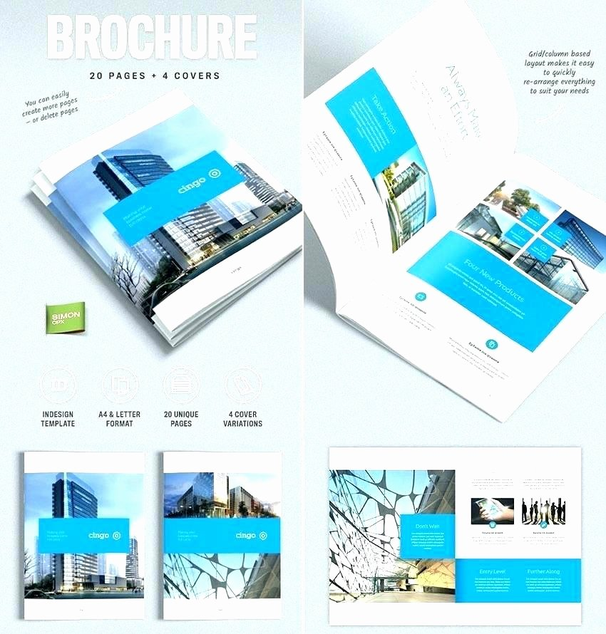 Half Page Brochure Template Lovely Elegant E Page Brochure Template Pics Awesome Design