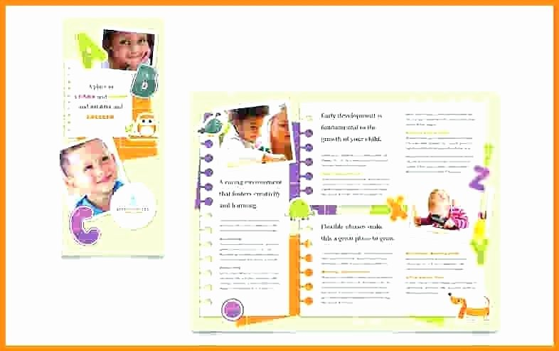 Half Page Brochure Template New Sample Pamphlet Templates – Emailers