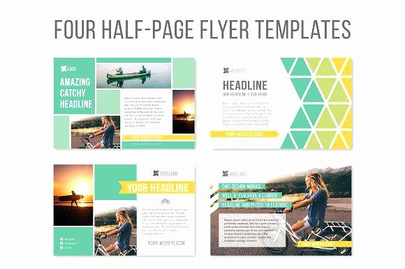 Half Page Flyer Template Luxury Half Page Senior Yearbook Ads Templates Quarter Ad