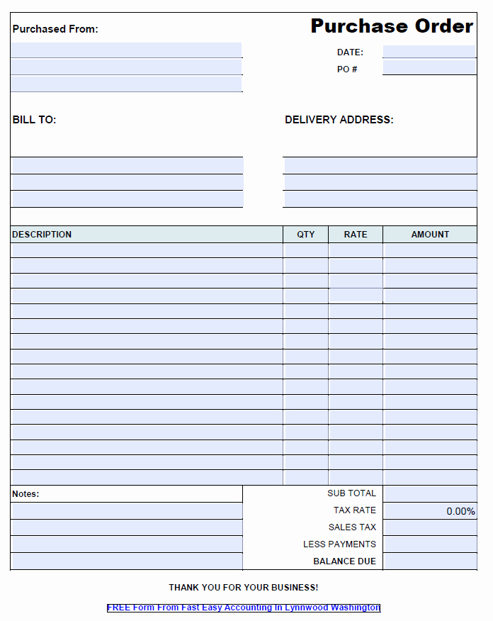 Handyman Work order Template Fresh Free Contractor Purchase order Template Pdf