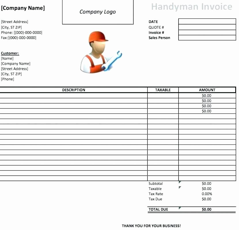 service repair order template