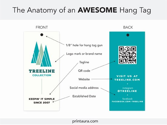 Hang Tag Design Template Beautiful Anatomy Of An Awesome Clothing Hang Tag Templates
