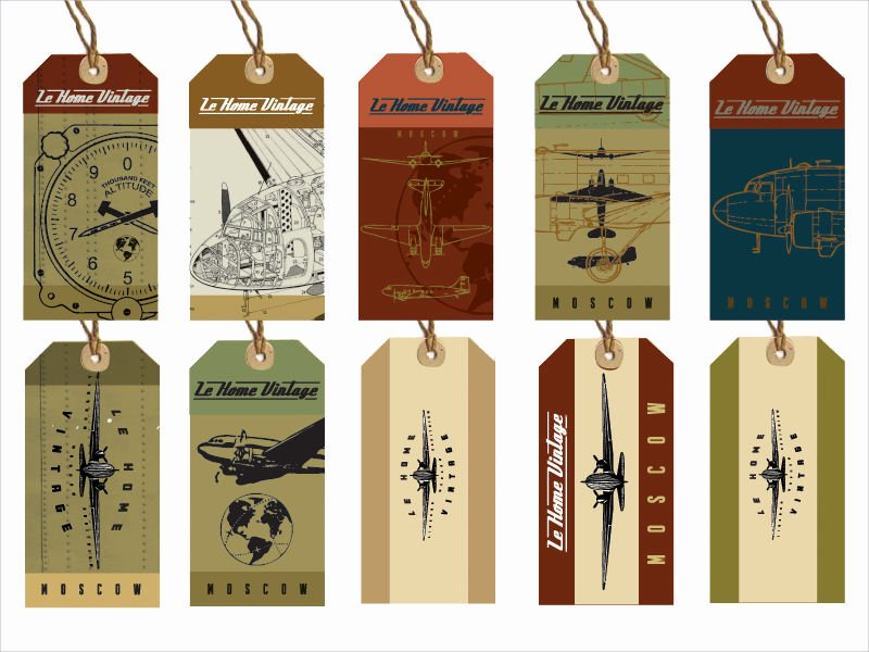 Hang Tag Design Template Elegant 20 Hang Tag Designs