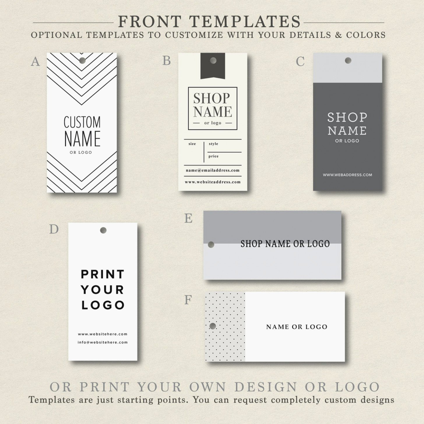 Hang Tag Design Template Elegant the 10 Secrets About Clothing Label Design