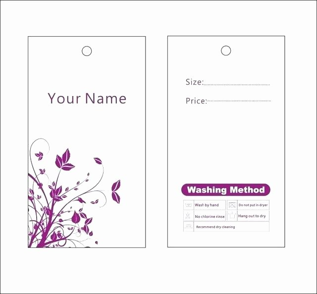 Hang Tag Design Template Inspirational Door Hang Tag Template Hanger Real Estate Tags Jewelry
