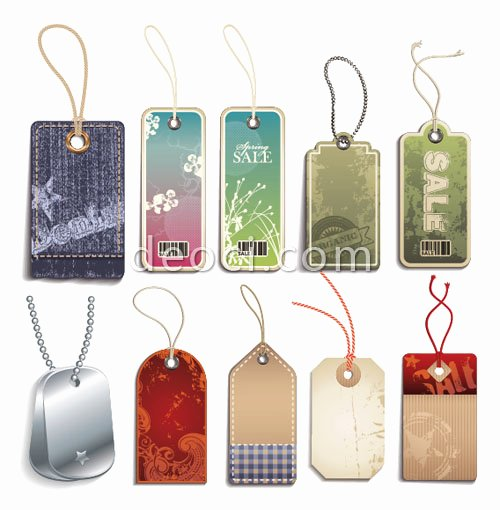 Hang Tag Design Template Luxury 10 Vector Merchandise Listed On Hang Tag Design Template