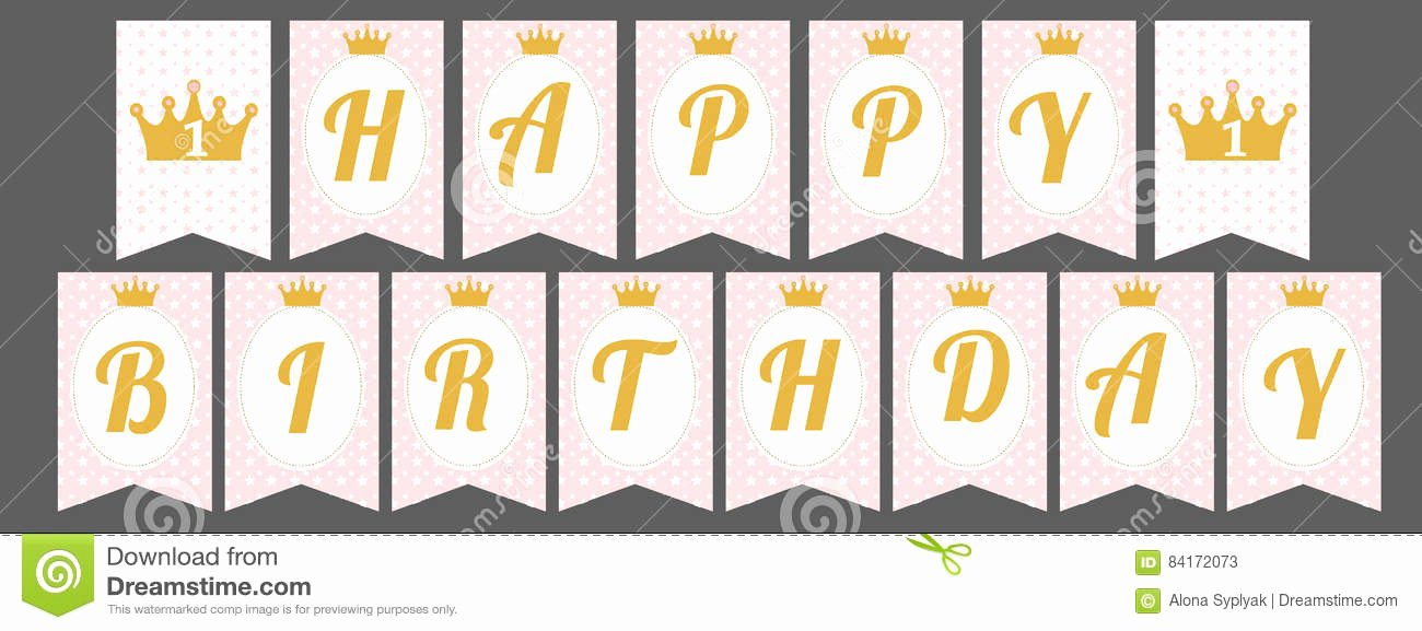 Happy Birthday Banner Template Elegant Happy Birthday Letters to Print Printable 360 Degree