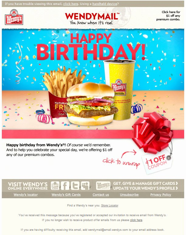 Happy Birthday Email Template Awesome Bday Pic