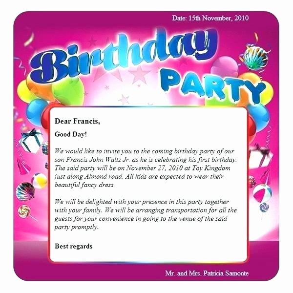 Happy Birthday Email Template Awesome Birthday Email Template Swim Party Birthday Invitations