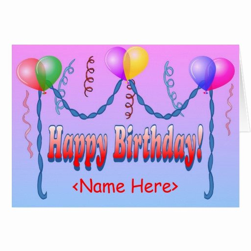 Happy Birthday Email Template Best Of Happy Birthday Template Card