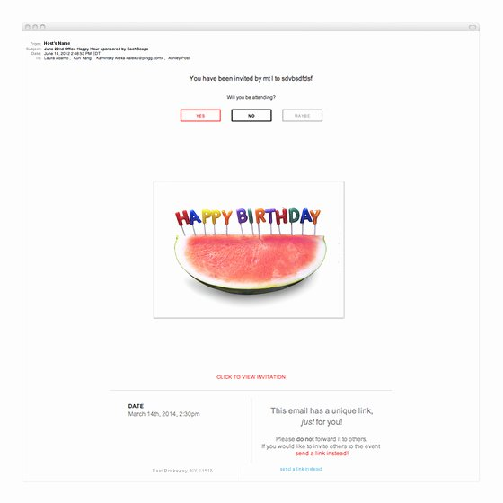 Happy Birthday Email Template Best Of Happy Birthday Watermelon Invitations & Cards On Pingg