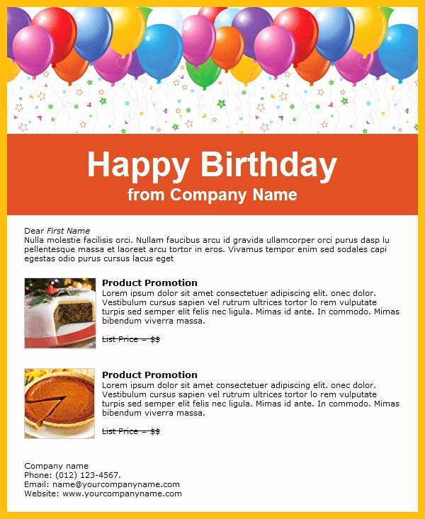 Happy Birthday Email Template Fresh Birthday Invitation Email Template 23 Free Psd Eps