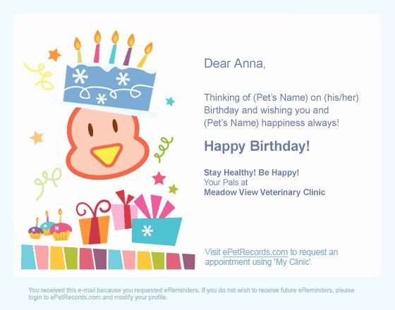 Happy Birthday Email Template Fresh Email Marketing for Epetrecords Birthday Evite