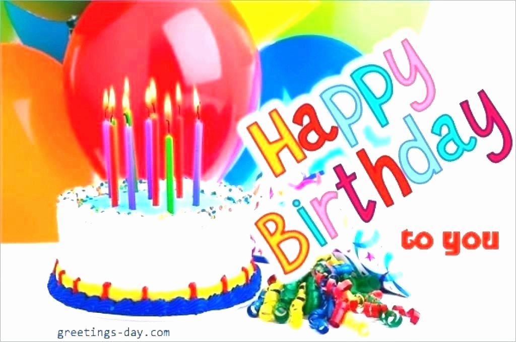 Happy Birthday Email Template Inspirational Birthday Email Template