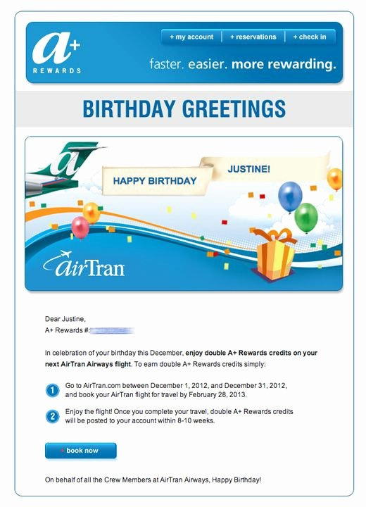 Happy Birthday Email Template Luxury 15 Best Birthday Email Templates Images On Pinterest