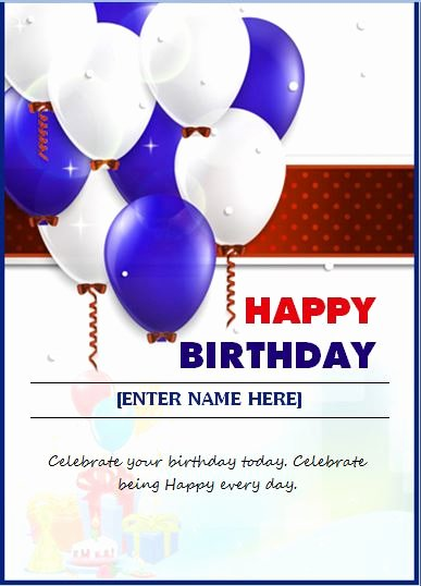 Happy Birthday Template Word Best Of 6 Best Of Birthday Card Templates for Word