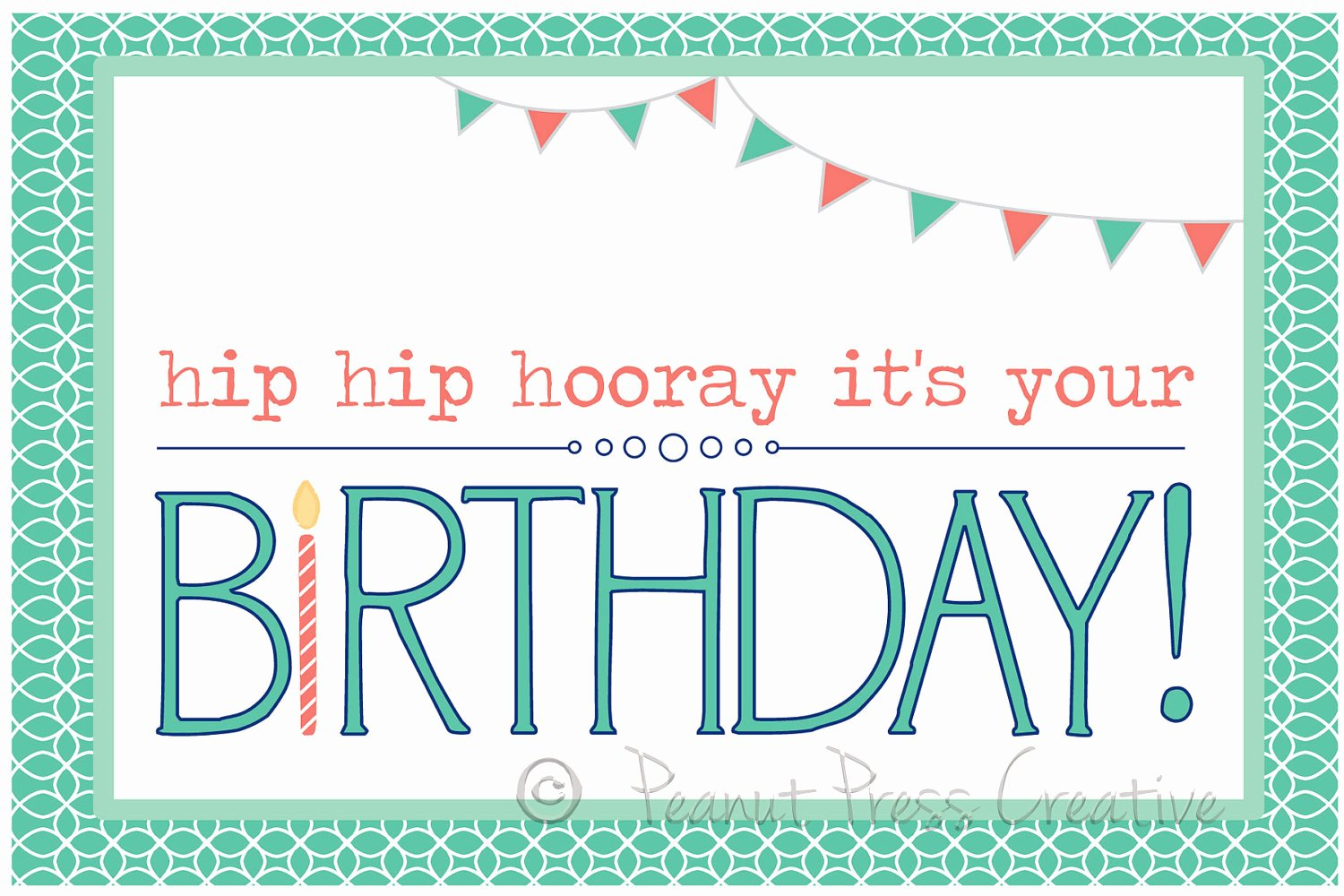 Happy Birthday Template Word Lovely 8 Birthday Card Templates Excel Pdf formats