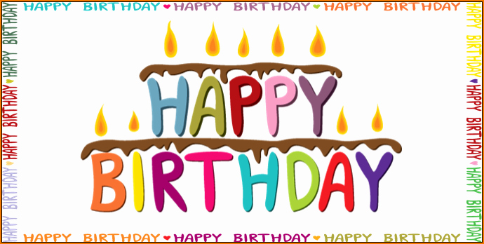 Happy Birthday Template Word Luxury 6 Birthday Templates