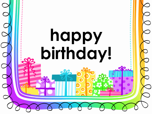 Happy Birthday Template Word Luxury Birthday Card Ts On White Background Half Fold