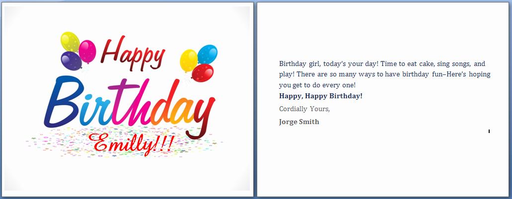 Happy Birthday Template Word Unique Ms Word Happy Birthday Cards Word Templates