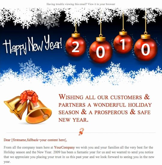 Happy New Year Email Template Awesome Happy New Year Email Template Invitation Template