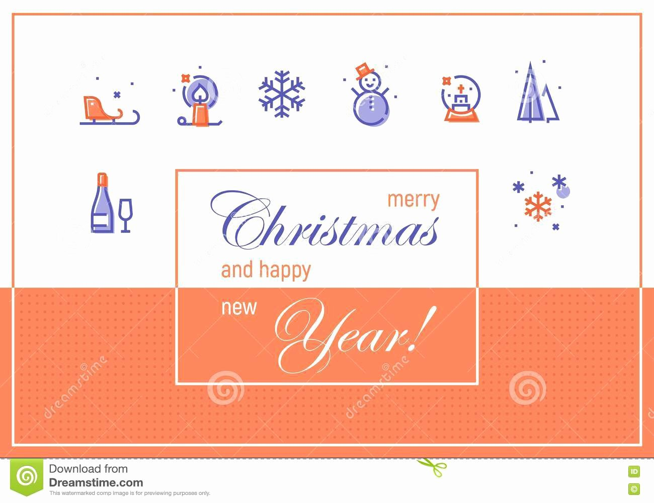 Happy New Year Email Template Lovely Happy New 2017 Year Greeting Cards Template Stock