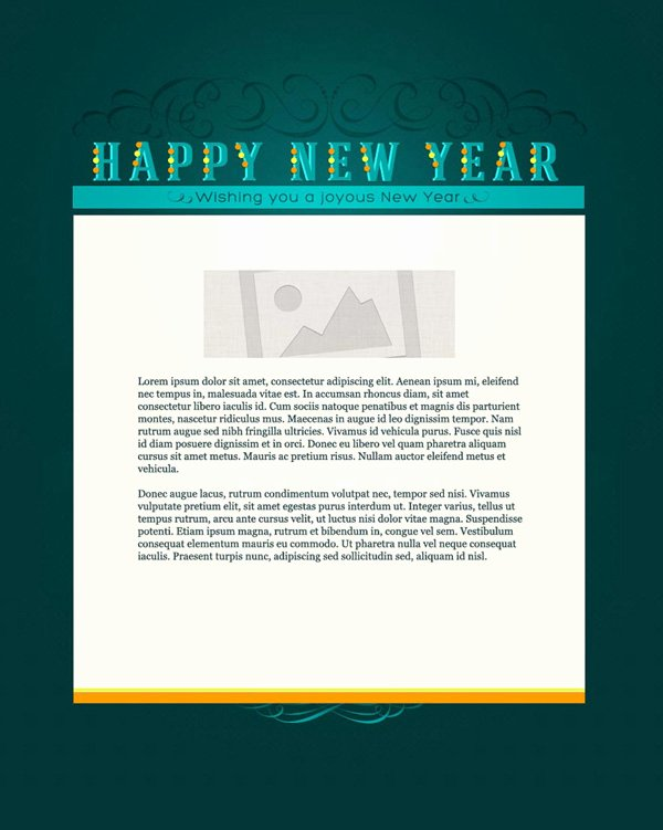 Happy New Year Email Template Lovely New Years Email Marketing Templates New Years Email