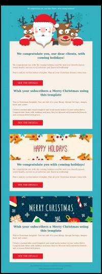 Happy New Year Email Template Luxury Happy New Year Email Template – Merry Christmas & Happy
