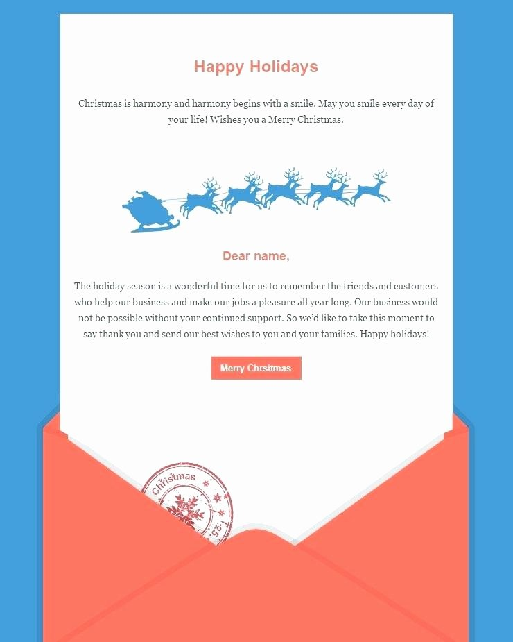 Happy New Year Email Template New Happy New Year Email Template