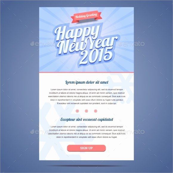 Happy New Years Email Template Fresh Happy New Year Email Sample – Merry Christmas & Happy New