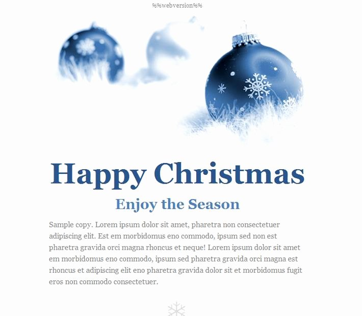 Happy New Years Email Template New Happy New Year Email Template – Merry Christmas & Happy